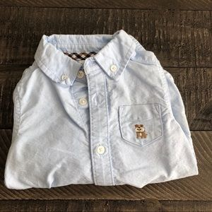 CARTERS Button down Onesie Top